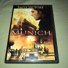 Munich Dvd Widescreen Steven Spielberg Eric Bana Daniel Craig Movie