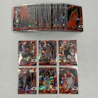 2020-21 Prizm Basketball Complete Red Cracked Ice Set 1-100 Lamelo Ball Wiseman