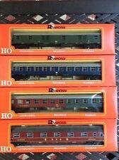 Rivarossi German Railway Passenger Coach Set Deutsche Bundersbahn HO