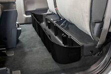 DU-HA 20106 Black Under Rear Seat Storage For Ford F150 Super Cab 2015-2019