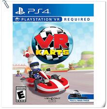 PSVR VR Karts Sony PlayStation Racing Games