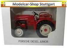 Porsche Junior Tractor Tug with Clutch - welly 1:24 - Fabrilneu