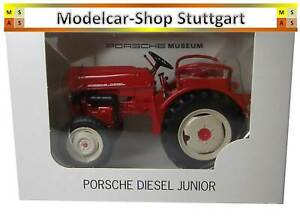 Porsche Junior Tracteur Hercheur Avec Embrayage - Welly 1:24 - Neuf Usine