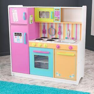 KidKraft Deluxe Big N Bright Kitchen Toy Set Food Kids Pretend Play Kid Toys