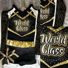 Real Cheerleading Uniform Allstar World Class Youth Med