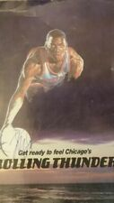 MICHAEL JORDAN MEMORABILIA - AUTOGRAPHED 1986-87 cover of Bulls Media guide