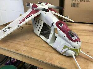 Star Wars Revenge of the Sith Republic Gunship Hasbro 2005 Used Complete