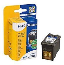 Pelikan Druckerpatrone H40 HP Deskjet D1560 2360 2460 F2180 Officejet PSC HP21XL