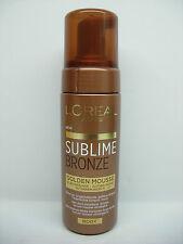 L'OREAL SUBLIME BRONZE GOLDEN MOUSSE AUTOABBRONZANTE - 150 ml