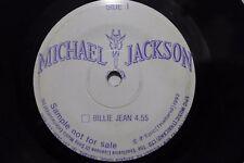 "Michael Jackson Billie Jean jam/THAI PE 7"" Thaïlande PROMO SONY Sample"