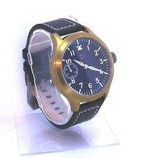 TC-9 Pilot Watch Seagull 6497 brass and Titanium.