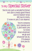 To My Special Sister Heartwarmers Keepsake Credit Card & Envelope Gift