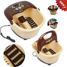 220V Foot Spa Bath Digital Massager Therapy Electric Heater Relax Pedicure Gift