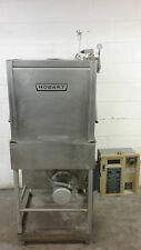 Hobart Am-14C Pass Thru Dish Machine Dishwasher Tested 200/230 Volt