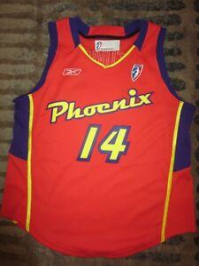 Slobodanka Tuvić #14 Phoenix Mercury 2003 WNBA Game Used Worn Reebok Jersey