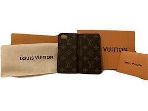 Authentic Louis Vuitton Monogram Phone Folio Case iPhone 7/8 (Great Condition)