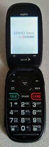 SPRINT SANYO VERO SCP3820 CELL PHONE - BLUE