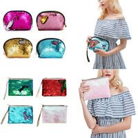 Multifunctional Phone Case Makeup Storage Pouch Mermaid Party Money Bag Wallet