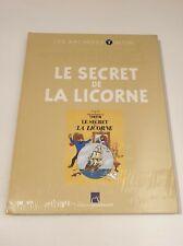 Archives Tintin - Le Secret de La Licorne - Hergé - NEUF SOUS BLISTER