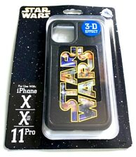 NEW DISNEY D-TECH STAR WARS LOGO 3D EFFECT IPHONE X, XS AND 11 PRO CASE COVER