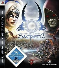 Playstation 3 SACRED 2 FALLEN ANGEL DEUTSCH GuterZust.