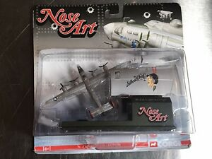 """Corgi Nose Art Consolidated B-24 Liberator """"Silver Chief"""" Diecast Collection New"""