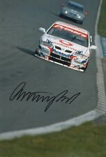 Anthony Reid Hand Signed 12x8 Photo Nissan Touring Cars.