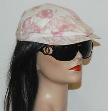 Dior Pink Cherry Blossom Flat Newsboy Cap Hat