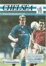 Chelsea v Portsmouth - League Cup - 31/10/1990 - Football Programme