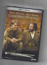 Good Will Hunting (DVD + Digital) Matt Damon & Robin Williams - NEW - Ships Fast