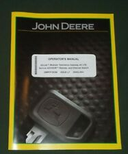 JOHN DEERE TELEMATICS MTG 4G LTE OPEN SOURCE SOFTWARE OPERATORS MANUAL & CD