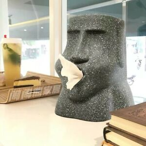 Funny MOAI Tissue Dispenser Box Home Decor
