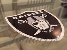 "Las Vegas Raiders Sticker Decal Vinyl NFL Nation Football *Sz: 3.5""-18""* Oakland"
