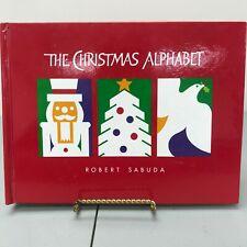 The Christmas Alphabet by Robert Sabuda Kids Popup Book Orchard Books w/Santa No