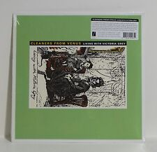 CLEANERS FROM VENUS Living With Victoria Grey VINYL LP Sealed Captured Tracks