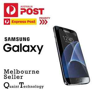 GENUINE Tempered Glass Screen Protector/Film for Samsung Galaxy S7 S6 S5 S4