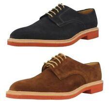 Calzado de hombre Zapatos informales con cordones de color principal azul