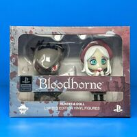 Bloodborne Hunter and Doll Vinyl Figure Statue Set Sony PS4 Officially Licensed