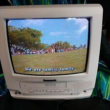 TV VCR combo Fm Television With Remote model pvc 1332 w panasonic