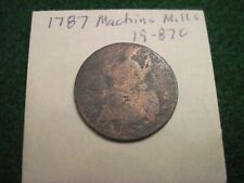 1787 Machins Mills 17-87C Us Revolutionary War Era Colonial Coin