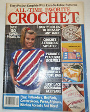 All-Time Favorite Crochet Magazine Over 50 Super Projects 1990 040915R