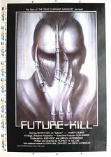 Future-Kill,(1985) Artist's/Printers Proof, 1 sht. Signed HR Giger, NM Rolled