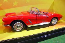 CHEVROLET CORVETTE cabriolet 1962 1/18 AMERICAN MUSCLE ERTL 7835 voiture miniatu