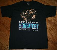 Lee Haney The Greatest Ironville, USA Screen Stars T-Shirt Men's XL bodybuilding