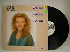 Kylie Minogue - Wouldn't Change A Thing / It's No Secret, PWL PWLT42 Ex