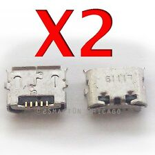 2X BlackBerry Curve 3G 9350 9360 9370 USB Charger Charging Port Dock Connector