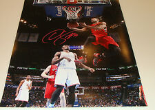 Toronto Raptors demar derozan firmado Nba Baloncesto 16x20 Autógrafo Certificado De Autenticidad De Imagen