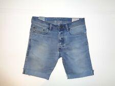 """Mens Diesel Tepphar jeans shorts 30"""" - blue denim festival #638"""