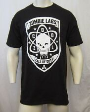 CALL OF DUTY BLACK OPS III ZOMBIE LABS CREW NECK T-SHIRT SIZE L BLACK VIC-THOR1