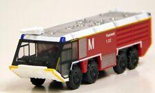 Herpa 1/200 HO Munich Airport Fire Engine  Red / White PLASTIC REPLICA 558853